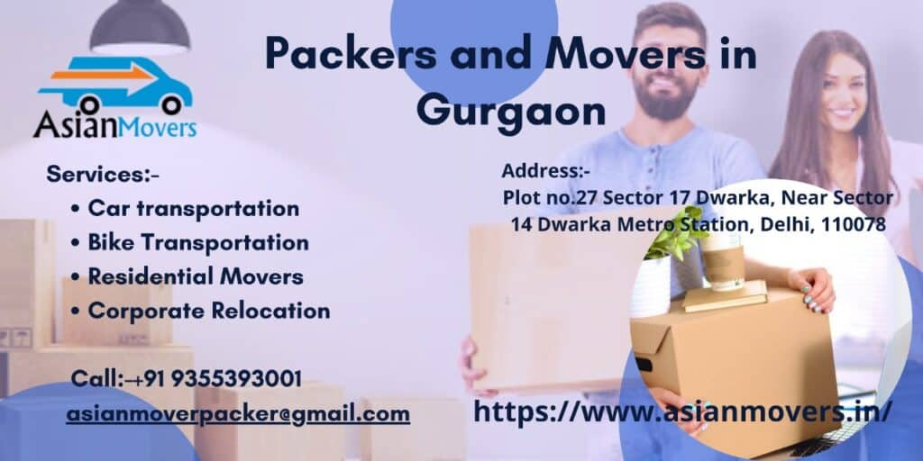 Packers And Movers In Gurgaon / 9355393001 IBA Approved